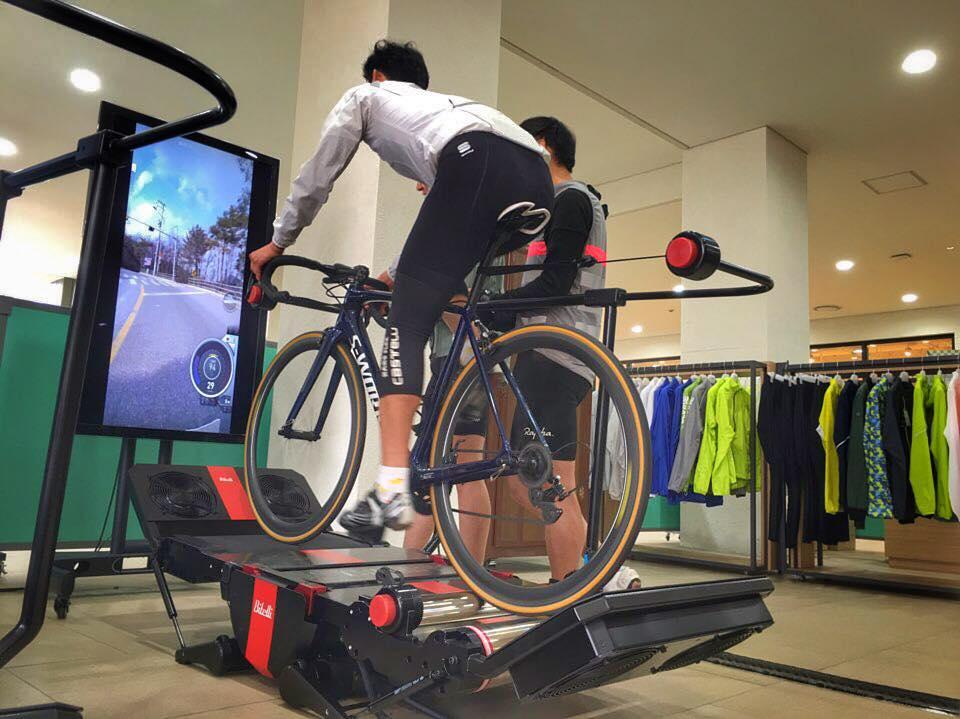 rodillo bicicleta con simulador